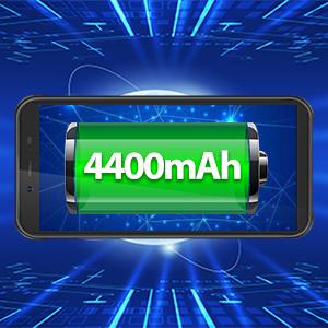 4400mAh batteria