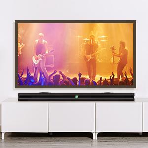 sounbar sound bar  sound bar with built in subwoofer bluetooth soundbar surround sound system for tv