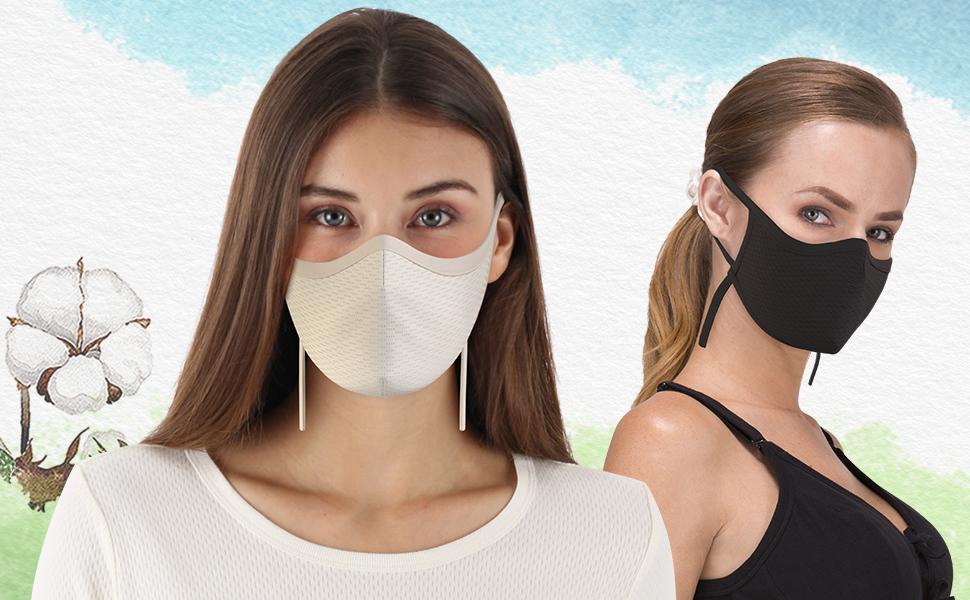 Cottonique Hypoallergenic Elite Face Mask
