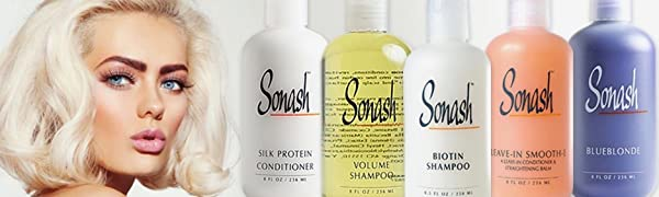 Sonash only uses the best and the most world-renowned cutting-edge professional formulas Vitamin