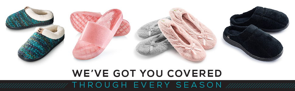 Comfortable Slippers for Every Season