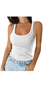 Scoop Neck Workout Tank Top