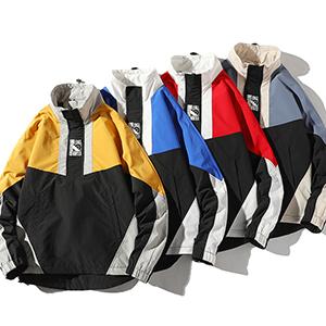 Men's Long Sleeve Sweatshirt Jumper Top Hoodies Pullover COLORS 4  Colors: Yellow/ Blue/ Red/ Purple