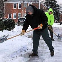 Shovel snow gloves