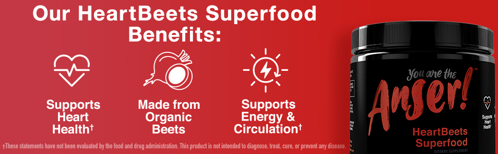 Anser Heart Beets Superfood Powder