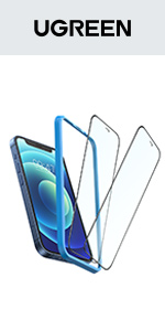 UGREEN 2-Pack Screen Protector for iPhone 12/12 Pro 6.1-inch