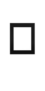 11x14 for 8.5x11 mat black color single size pack bundles