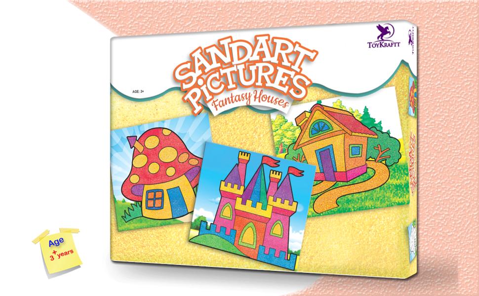 Sandart Pictures - Fantasy Houses