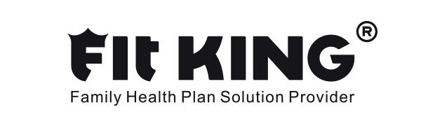fit king leg massager for circulation logo