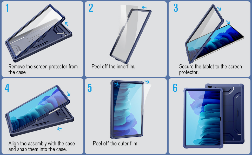 case for samsung tab a7 case
