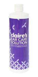 Amazon Com Claire S Ear Care Solution Claire S Beauty