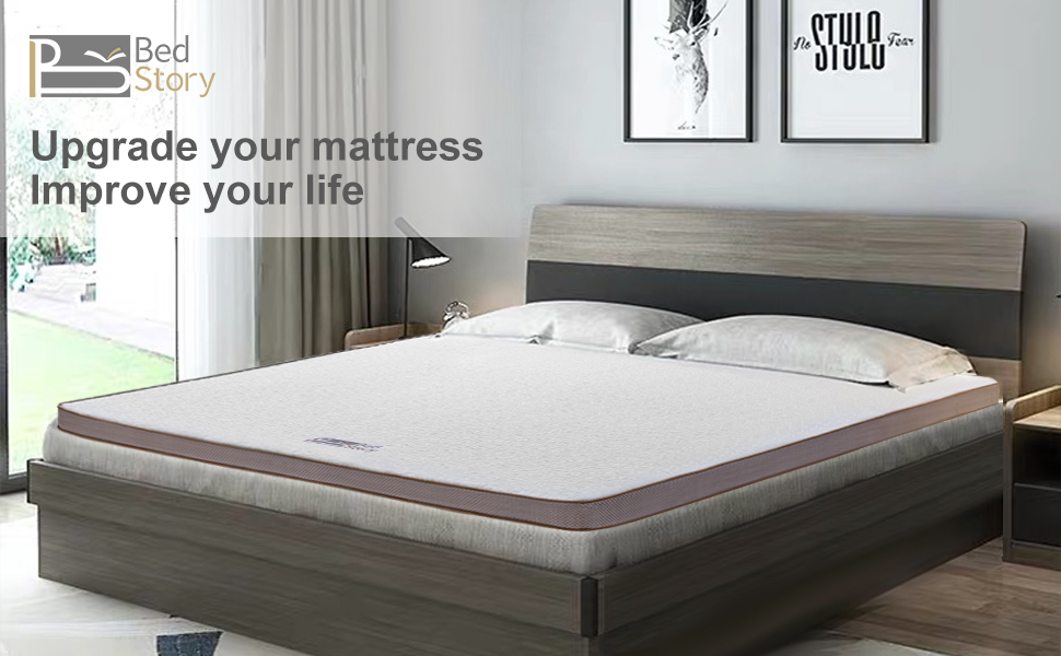 gel mattress toppers bed memory foam