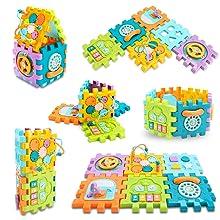 activity cube baby toy