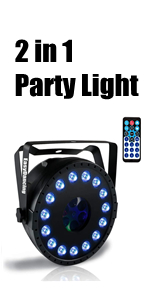 2 in 1 Party Light