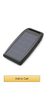 10000mAh solar charger