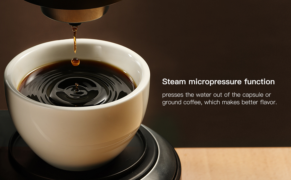 coffee maker for K cup and ground coffee
