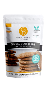 Good Dee's chocolate chip cookie mix
