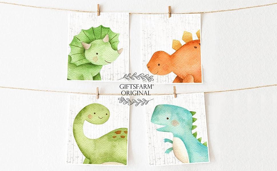 dinosaur baby prints