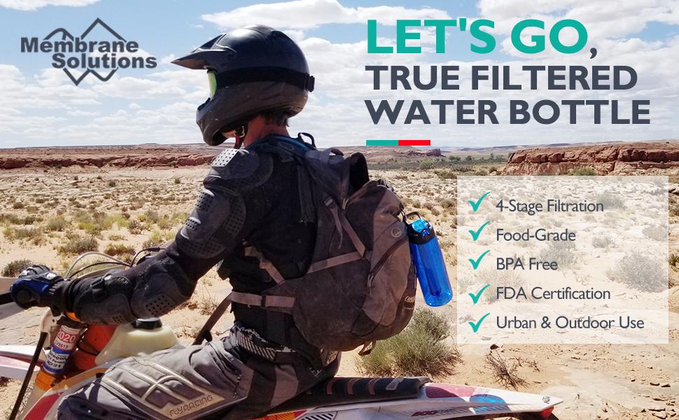 water filter bottle