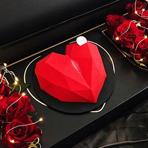 Chocolate heart mold