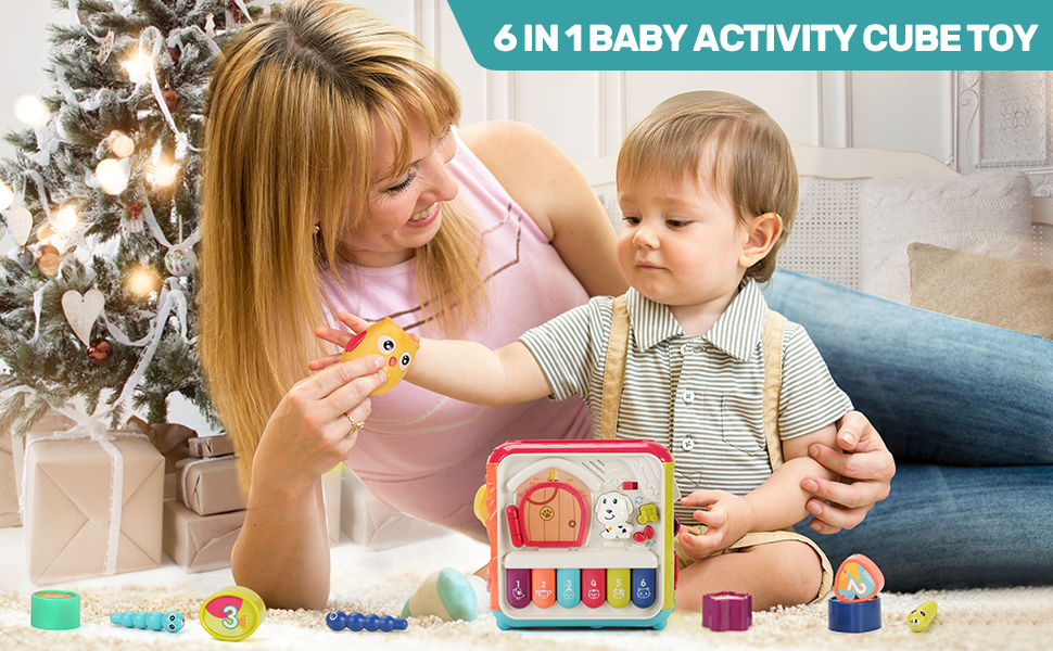 ACTIVITY CUBE TOY FOR KIDS