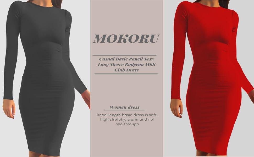 Bodycon Midi Club Dress