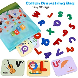 ABC Letters for Toddlers & Kids