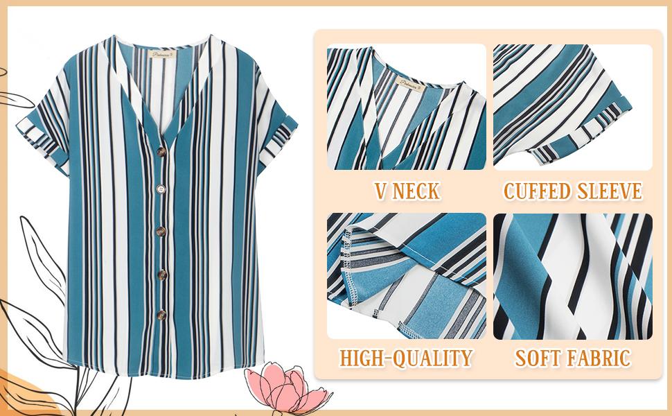 blouses & button-down shirts  short sleeve shirts for women button down shirts for women women shirt