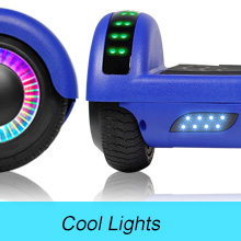 UNI-SUN Off Road Hoverboard, Bluetooth Hoverboard for Kids, All Terrain Hoverboard, 8.5 Inch Two-Wheel Self Balancing Hoverboard for Adult,UL2272 ...