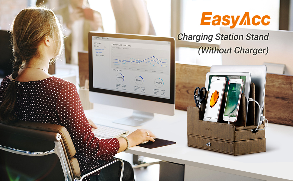 charging station stand