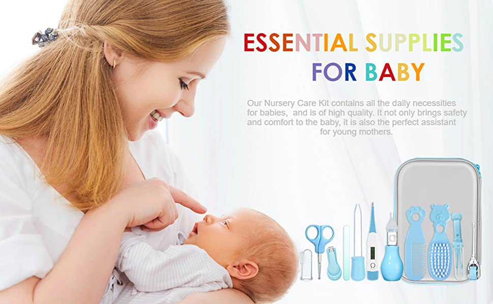 Baby Healthcare and Grooming Kit
