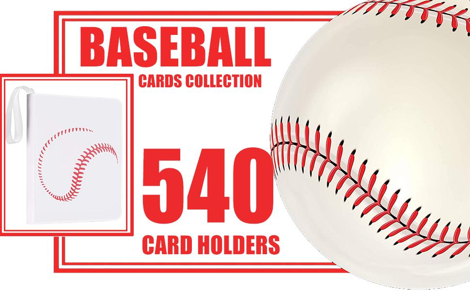 baseball binder for trading cards