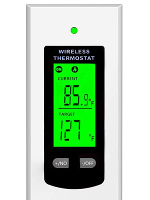 Electric Thermostat with Remote Control