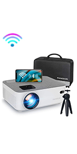 Portable mini wifi projector