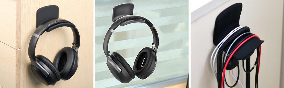 universal holder for gaming headphones earphones