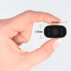 This PNZEO Mini hidden wifi Camera Featuring