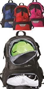 National Soccer Backpack - XL bag with laptop sleeve