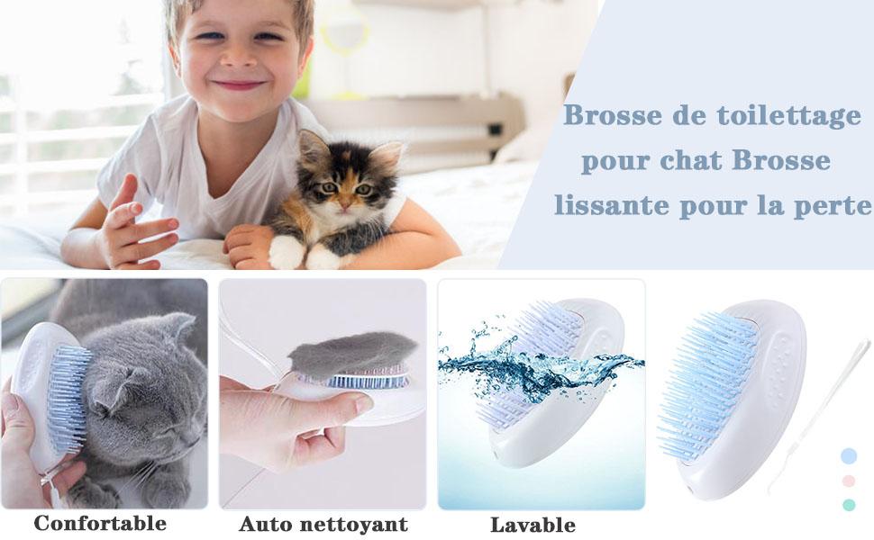 brosse de toilettage pour animaux de compagnie