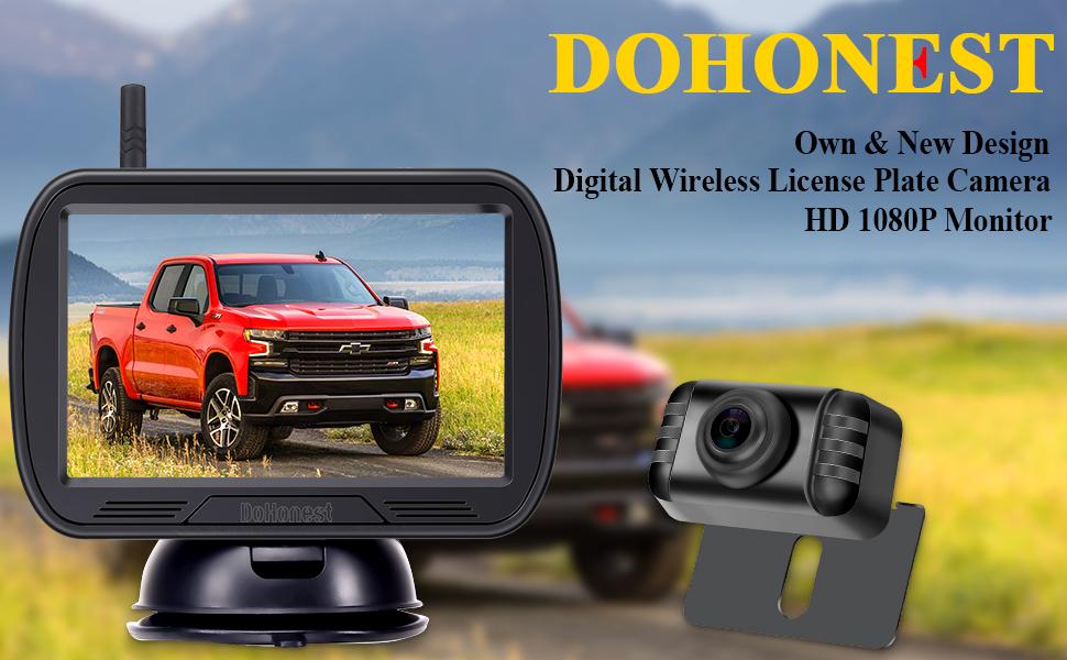 DoHonest digital backup camera kit