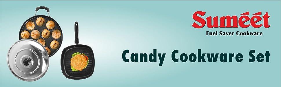 SUMEET CANDY COOKWARE SET