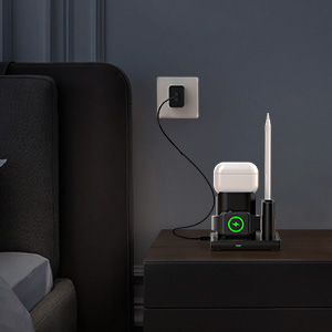 wireCharging Dock for AirPods & iWatchless charger pad