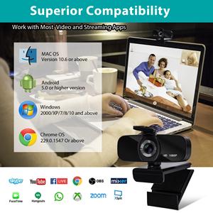 HD Streaming Webcam