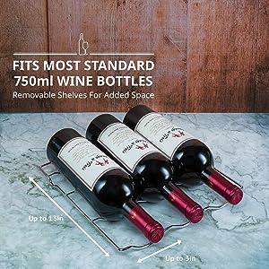 Schmecke wine cooler fits 750ml bottle
