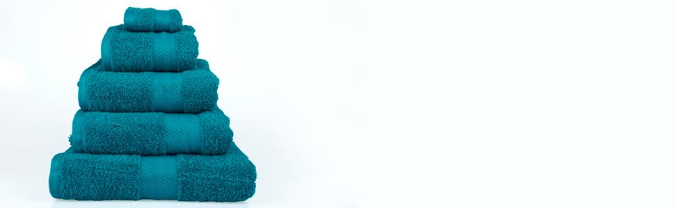 Serviettes luxueuses en coton
