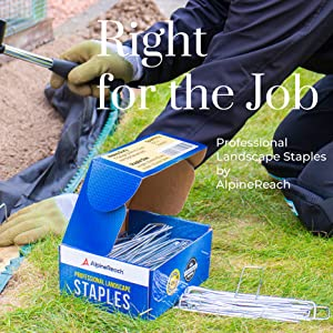 Right for the Job - AlpineReach Professional Landscape Staples