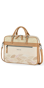 maletin portatil funda 15.6 14 pulgadas mujer bolso bolsa ordenador 13 portadocumentos diseño