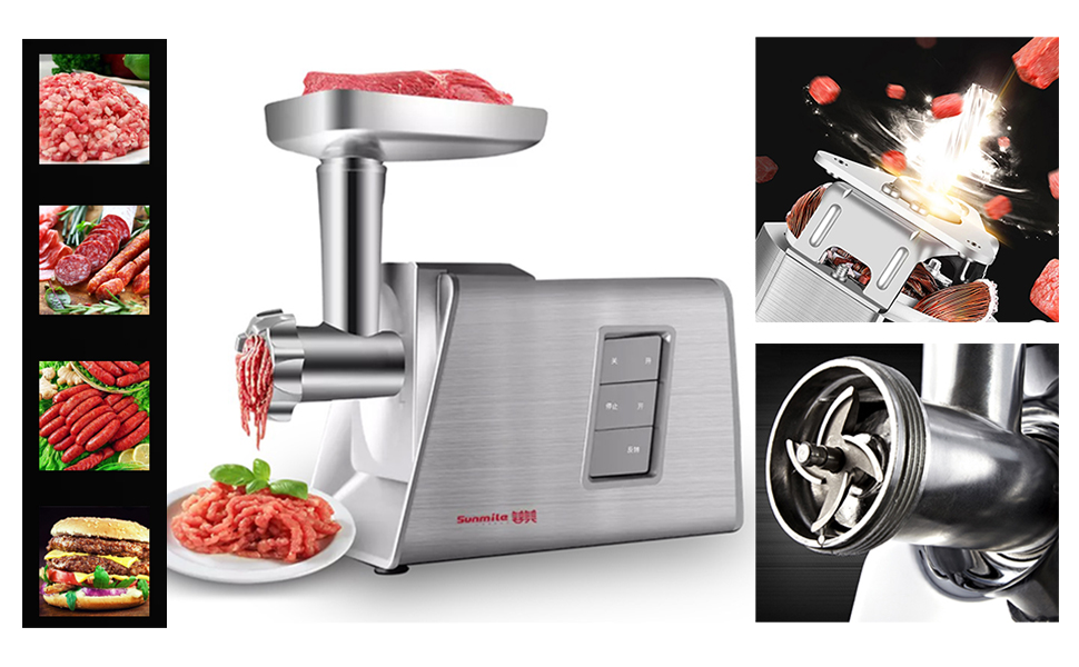 sunmile electric meat grinder