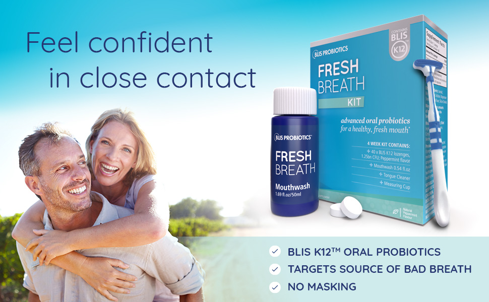 Fresh Breath Kit with BLIS K12 Probiotics
