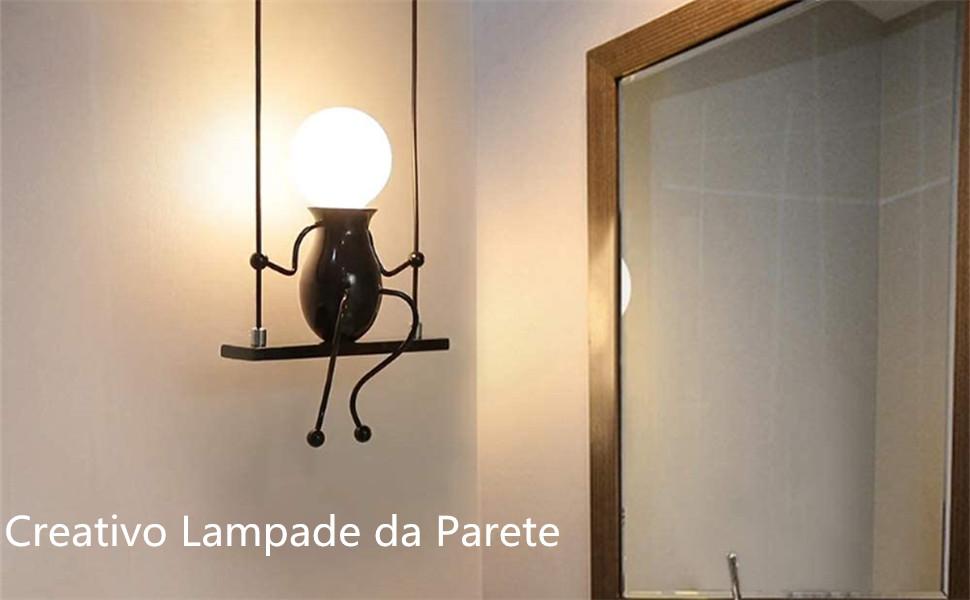 Lampe murale créative