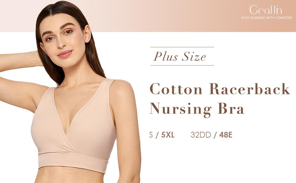 Plus Size Nursing Bra